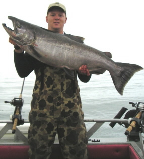 how to catch landlocked chinook